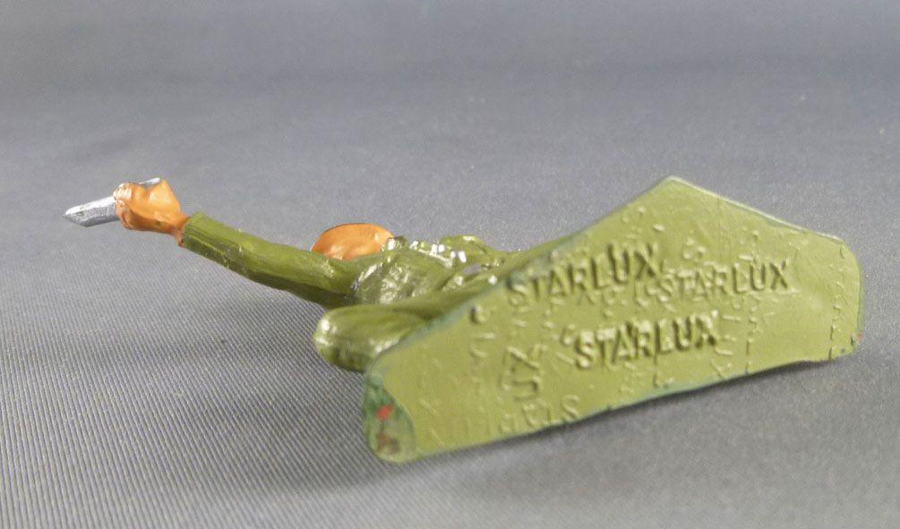 Starlux - Fantassins - Série Luxe - Mortier servant (réf 5007)