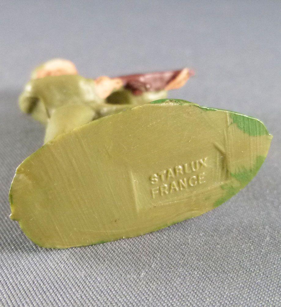 Starlux - Fantassins - Type 2 - Combattant Mitraillette Guêtres Bruns (réf 3)