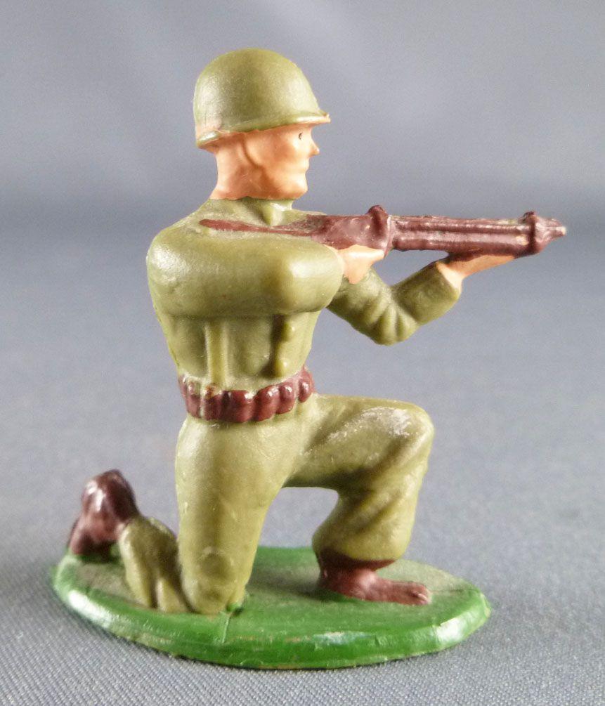 Starlux - Fantassins - Type 2 - Tireur fusil genoux (réf 2)