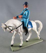Starlux - Federates -  Regular Series - Mounted light blue White Horse head down (ref CN1)