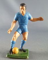 Starlux - Footballeur (bleu) - Balle au pied