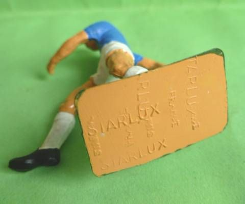 Starlux - Footballeur (bleu & blanc) - Tirant extérieur pied droit