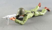 Starlux - French Infantry - Serie Luxe - Laying Firing MP (ref 5018)