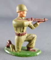 Starlux - French Infantry - Type 2 - Firing rifle kneeling (ref 2)