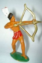 Starlux - Incas Series 53 - Footed Bowman standing (red - white feathers) (ref 183)