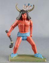 Starlux - Indians - Series Luxe Speciale 68 - Footed Medecine man (ref 5142)
