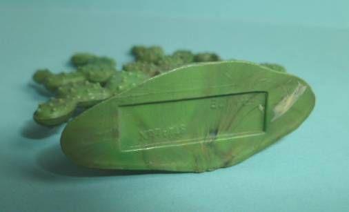 Starlux - Indiens - Accessoire Décor - Cactus à aiguilles double (vert) (réf xx)