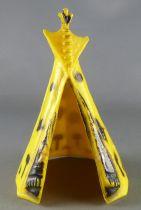 Starlux - Indiens - Accessoires Série Ordinaire 54 - Tente indienne jaune & noir (réf 856)
