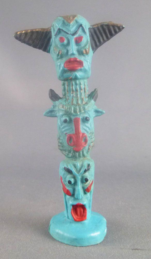 Starlux - Indiens - Accessoires Série Ordinaire 54 - Totem (grand bleu ciel) (réf 857)