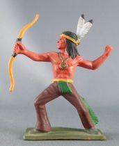 Starlux - Indiens - Série Luxe Spéciale 68 - Piéton Arc debout (réf 5151)
