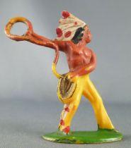 Starlux - Indiens - Série Ordinaire 53 - Piéton Lasso (réf 148)