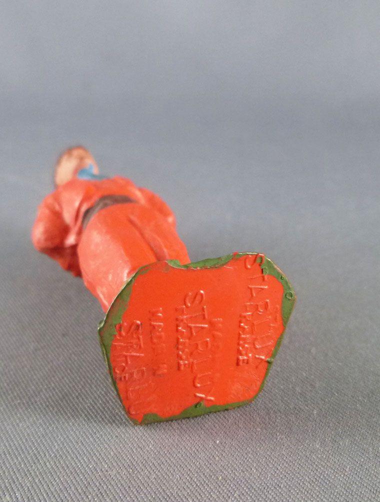 Starlux - Indiens - Série Ordinaire 53 - Piéton Prisonnier (orange ceinture marron) (réf 203)