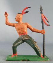 Starlux - Indiens - Série Ordinaire 57 - Piéton Guetteur lance (réf 151)