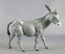 Starlux - La Ferme - Animaux - Âne gris sans socle (série 60 réf 2547)
