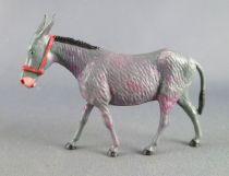 Starlux - La Ferme - Animaux - Âne gris sans socle (série 65/66 réf 2547)