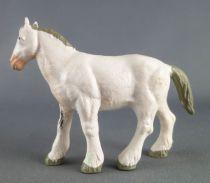 Starlux - La Ferme - Animaux - Cheval anglais blanc (Série Luxe 82 réf 2562)