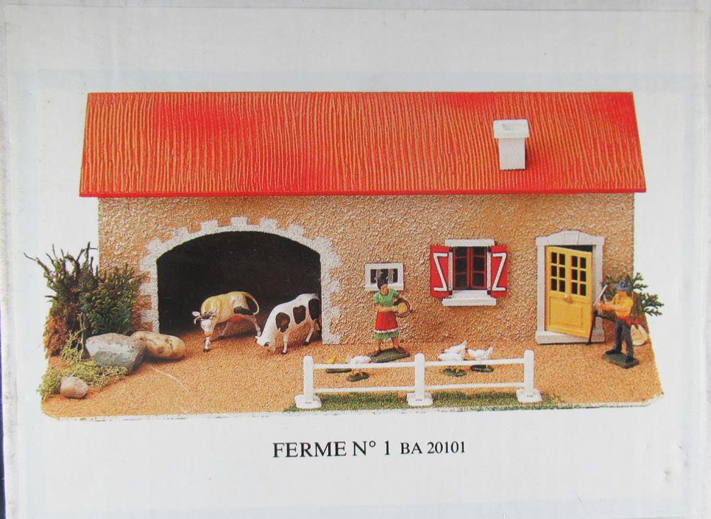 Starlux - La Ferme - Bâtiment Plasticobois - Ferme N°1 Neuve Boite Scellée