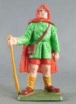 Starlux - La Ferme - Berger vert & rouge (série 75 réf PF7)