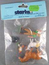 Starlux - La Ferme - Sachet 6 Pièces Fermier Animaux Etat Neuf 08
