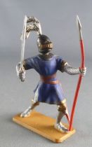 Starlux - Middle-age - 63 Series - ref 6050 (grey base) - Footed Knight fighting spear
