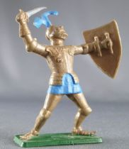 Starlux - Middle-age - serie 66 (choc serie) - Footed knight in armor xith sword (ref MPC 38 )