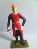Starlux - Middle-age - serie 76 (Luxe Special series) - footed French knight chainmail armor (ref MPL 74)