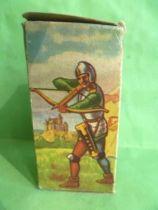Starlux - Moyen-âge - série 58 - réf 6002 - Boite Vide pour piéton chevalier combattant écu croisé