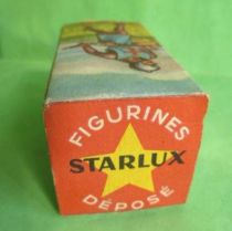Starlux - Moyen-âge - série 58 - réf 6009 - Boite Vide pour piéton croisé combattant avec hache