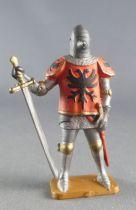 Starlux - Moyen-âge - Série 63 - réf 6054 (socle gris) - Piéton Duguesclin