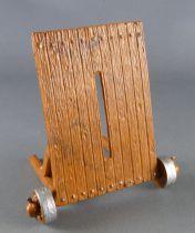 Starlux - Moyen-Age - série Machines de Guerre - Palissade Roulante Mantelet bois plat (réf 6060)