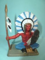 Starlux - Nestlé Kohler - Indians - Footed Chief seated N° 31