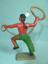 Starlux - Nestlé Kohler - Indians - Footed lasso N° 38