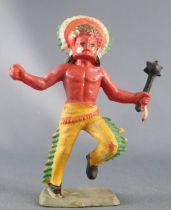 Starlux - Nestlé Kohler - Indien - Piéton Sorcier au masque de guerre N° 32 2