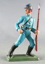 Starlux - Nordistes - Série ordinaire - Piéton Fusil Main Gauche bleu ciel (réf N8) 1