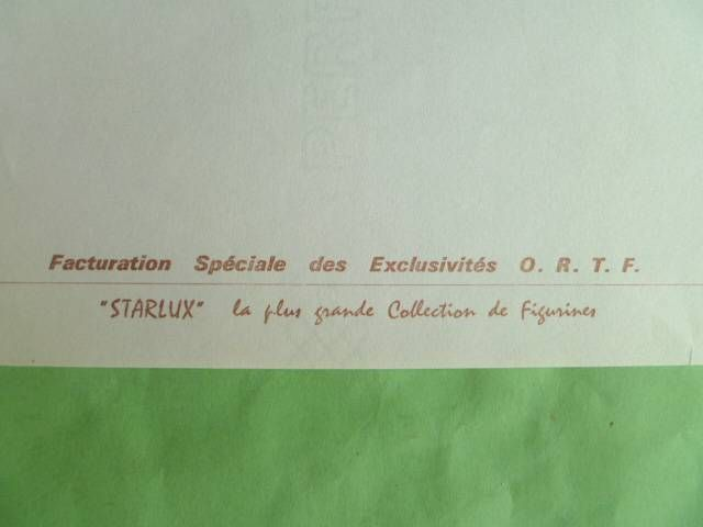 Starlux - Original Invoice from the Perigueux Factory