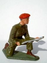 Starlux - Paratroopers - Serie Luxe - Fighting machine gun servant (khaki) (ref 5065)