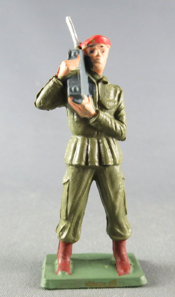 Starlux - Paratroopers - Serie Luxe - Fighting Radio khaky (réf 5063)