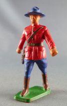 Starlux - Police Montée Canadienne - Piéton Officier (chapeau monobloc) (réf 2345)