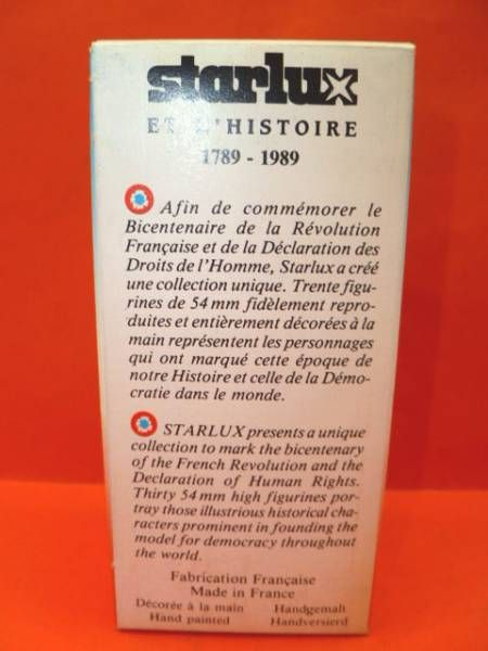 Starlux - Révolution française - Marat neuf en boite (ref  RF50020)