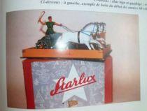 Starlux - Romains - Couvercle de la boite du Char années 60 (ref 7050)