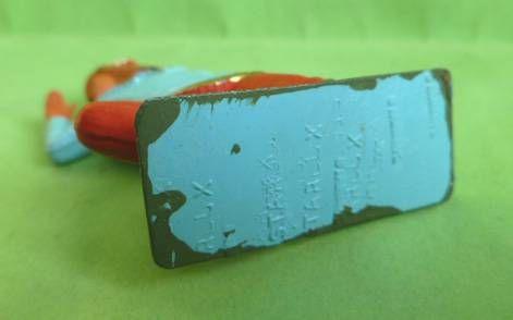 Starlux - Sioux Série Luxe Spéciale 65 - Piéton Poignard à genoux (bleu & rouge) (réf 5167)