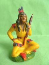 Starlux - Sioux Series Regular 46 - Footed Seated with rifle (ref SI12)