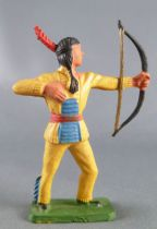Starlux - Sioux Series Regular 57 - Footed Bowman standing (yellow) (ref 163)