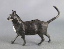 Starlux - The Farm - Animals - Cat walking black (Series 63 ref L575)
