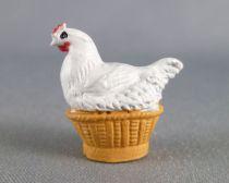 Starlux - The Farm - Animals - Hen grey in basket (Series 63 ref L569)