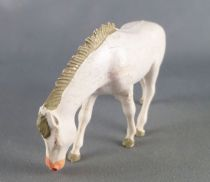 Starlux - The Farm - Animals - Horse eating (white) (Luxe Series 63 ref 2554)