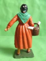 Starlux - the farm - Far woman basket with goos (Series 65/66 513bis)
