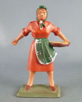 Starlux - the farm - farmer woman orange & green (series 59 ref 510)