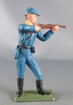 Starlux - Us Cavalry - Footed Firing rifle standing (ref TB11)