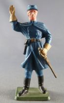 Starlux - Us Cavalry - Footed Officer with coat (ref TB2)